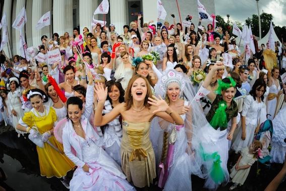 bride parad